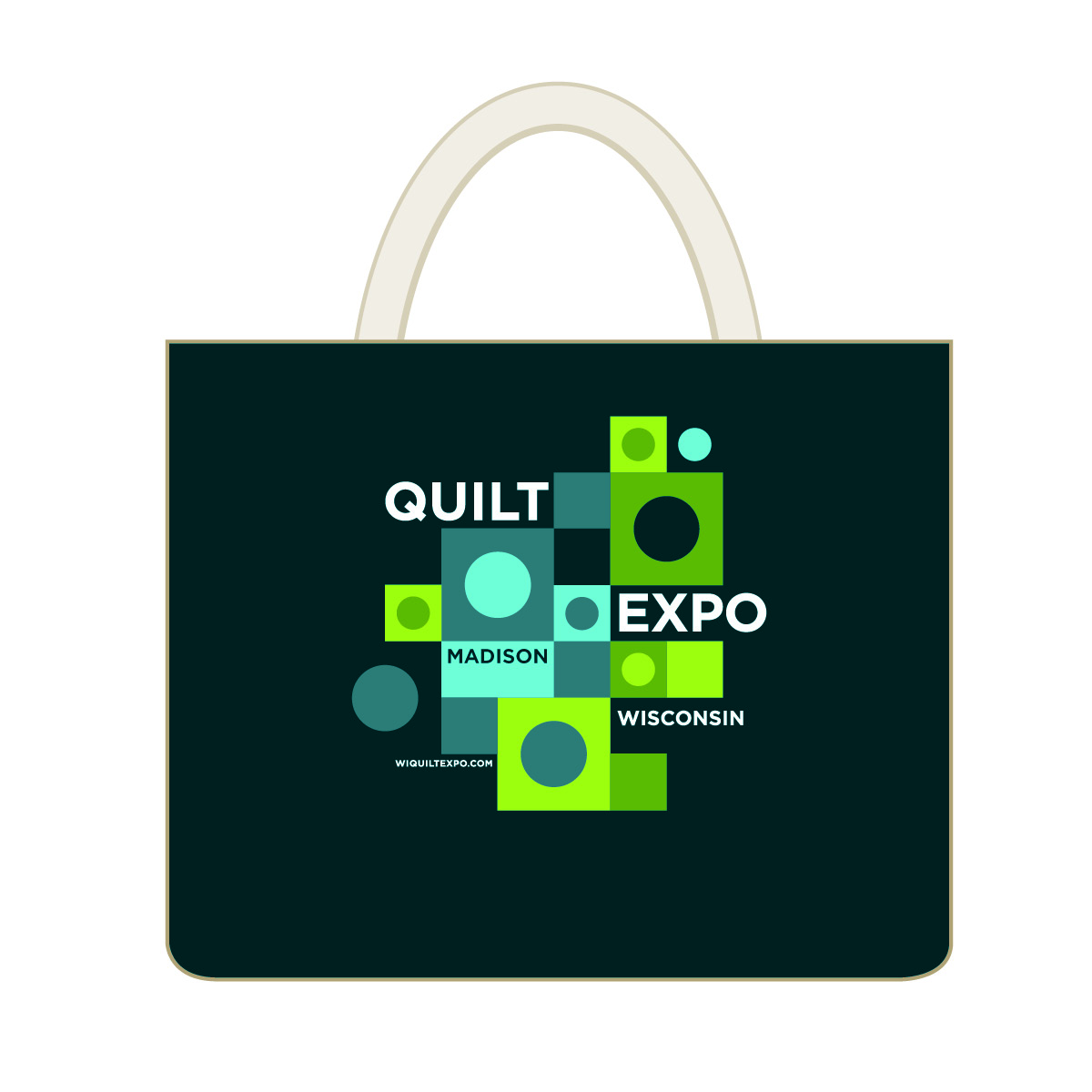 2015 Quilt Expo Tote Bag