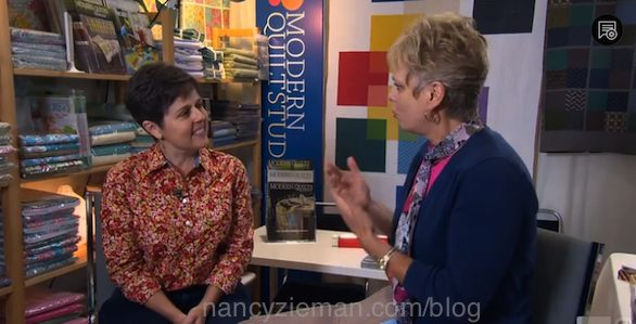 A Modern Quilting Bee by Nancy Zieman of TV's Sewing With Nancy