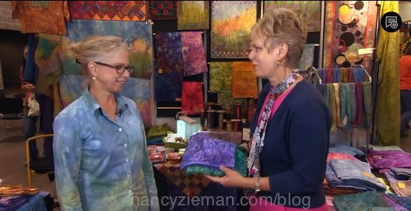A Modern Quilting Bee by Nancy Zieman of TV's Sewing With Nancy.