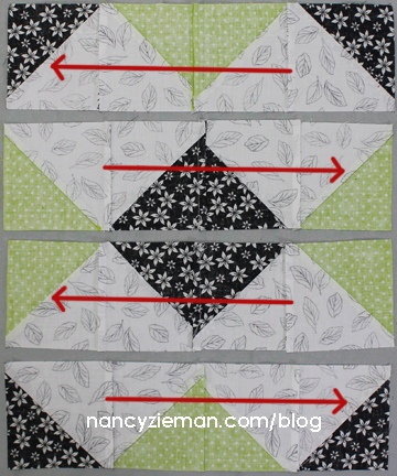 TriangleMedley BlockOfTheMonth NancyZieman l