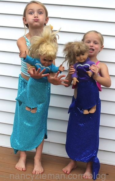 How to Sew a Mermaid Tail by Nancy Zieman