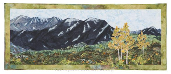 Rocky Mountain Summer by Nancy Zieman's Landscape Quilt