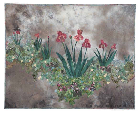 Beginning landscape Quilting Natalie Sewell and Nancy Zieman