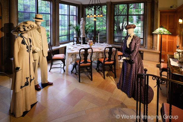 Dressing Downton, Patin Art Center, Nancy Zieman Blog, Photo courtesy of Weston Imaging Group