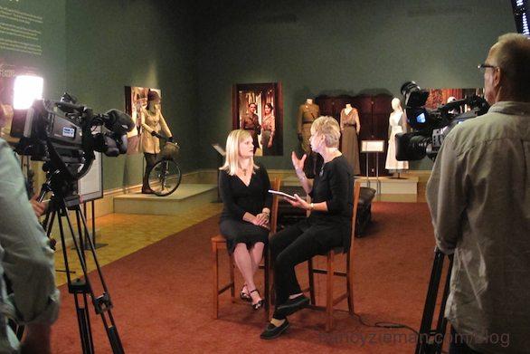 Dressing Downton, Paine Art Center, Nancy Zieman Blog