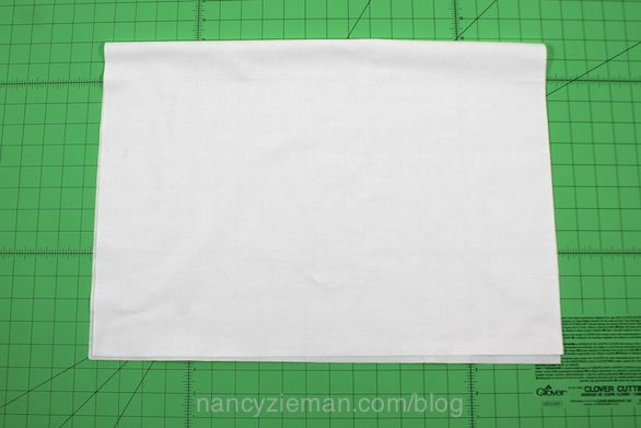Nancy Zieman shows how to make a travel pillow insert