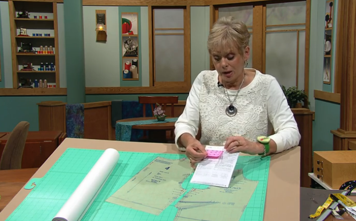 Solving the Pattern Fitting Puzzle Sewing With Nancy PBS Show hosted by Nancy Zieman