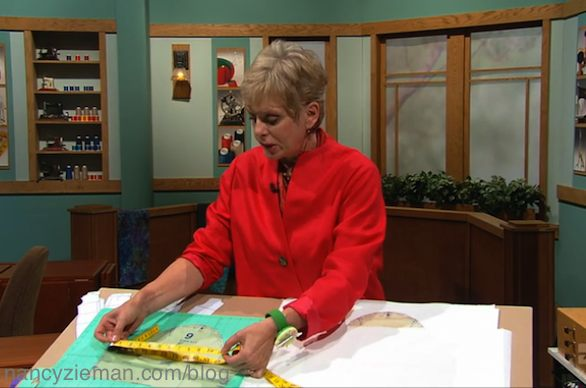 Solving the Pattern Fitting Puzzle Part Two as seen on the Sewing With Nancy Television Show.
