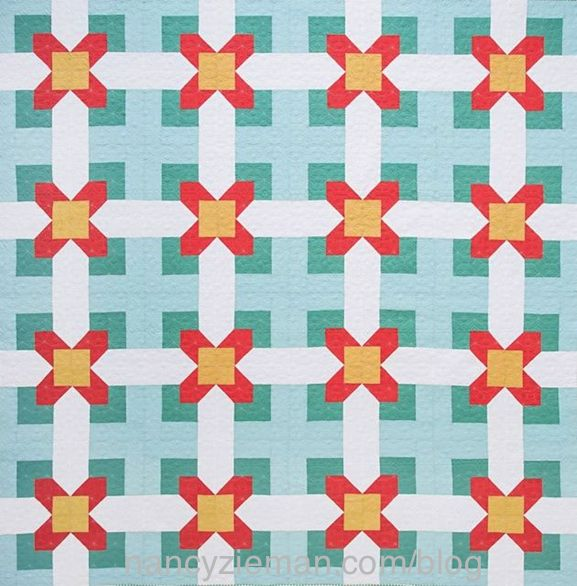 Peaches and Cream Quilt as seen on the Sewing With Nancy TV Show, Cabin Fever Quilts with Nancy Zieman
