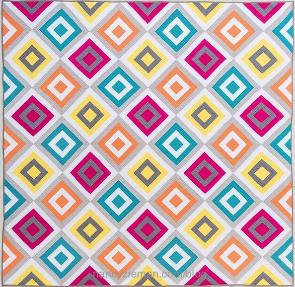 Log Cabin Quilts–20 Modern Log Cabin Quilts Book by Natalia Bonner and Kathleen Whiting as seen on the TV Show Sewing With Nancy with Host Nancy Zieman.