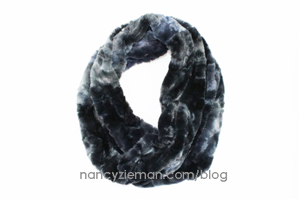 FREE! Faux Fur Infinity Scarf Sewing Tutorial by Team NZP