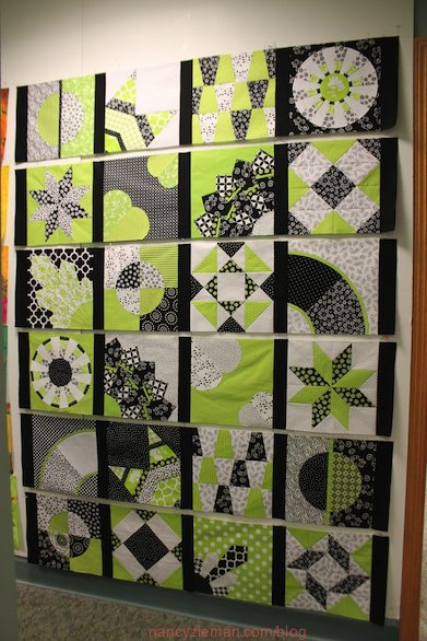 2015 Adventure Quilt, Nancy Zieman, How to finish a quilt