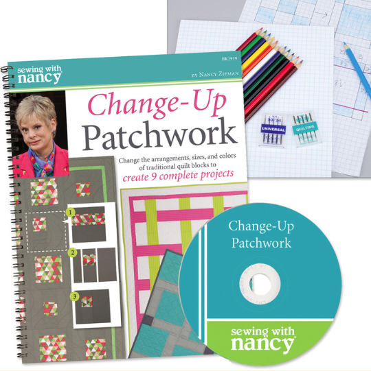 How to Sew Easy Four-Patch Quits by Nancy Zieman on the TV Show Sewing With Nancy TV Show