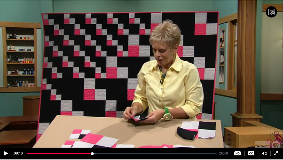 Change- Up Patchwork, part one, Nancy Zieman, Sewing With Nancy