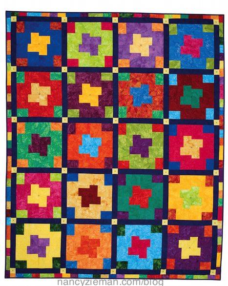 How to make a 4-patch quilt block, Nancy Zieman, Change up Patchwork.