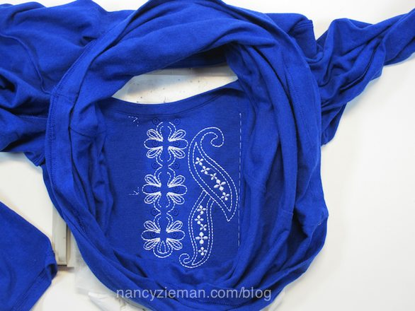 Simple to Chic T-Shirt transformations/Nancy Zieman/Eileen Roche/Sewing With Nancy