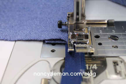 Nancy Zieman's Absolute Easiest Way to Sew A Lapped Zipper | Sewing With Nancy | How To Sew A Zipper