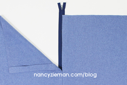 a How To LappedZipper NancyZieman 8