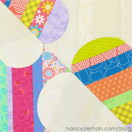 Be My Valentine Block by Nancy Zieman