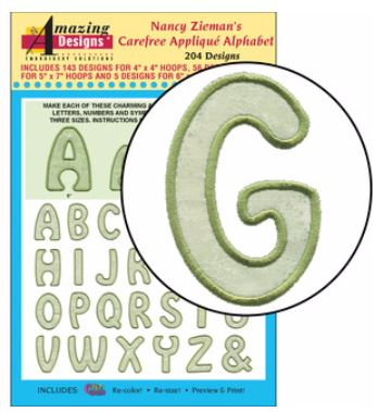 Carefree Alphabet Nancy Zieman