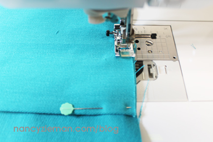 How to Sew a Pillow from an Orphan Block by Nancy Zieman