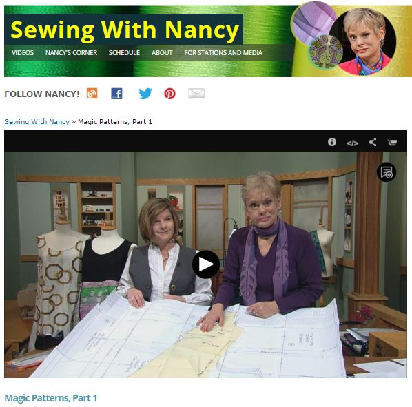 MagicPatterns 1 SewingWithNancy