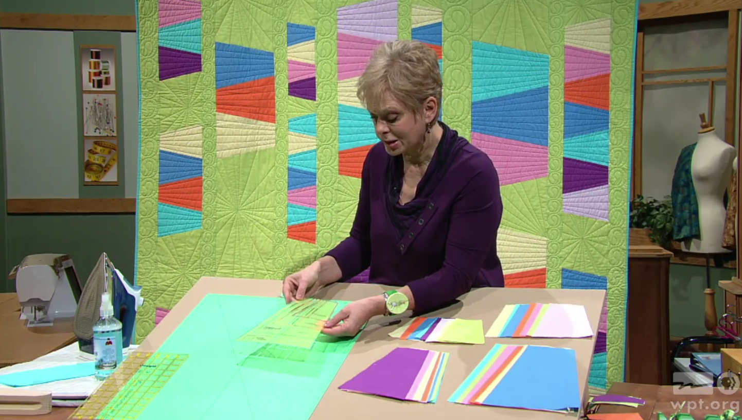 Watch Quick Column Quilts on Sewing With Nancy