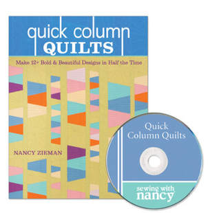 Quick Column Quilts by Nancy Zieman as seen on Sewing With Nancy