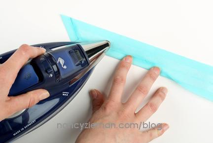 Fold over binding