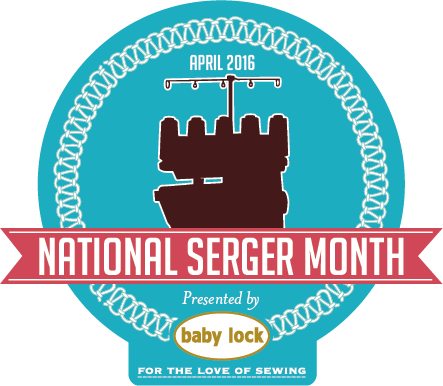 National Serger Month is April