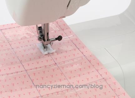 Stitch divider rows