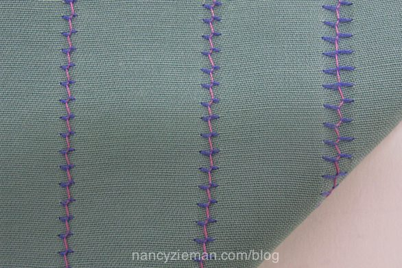 How to sew with a double needle or a twin needles. Nancy Zieman Sewing With Nancy