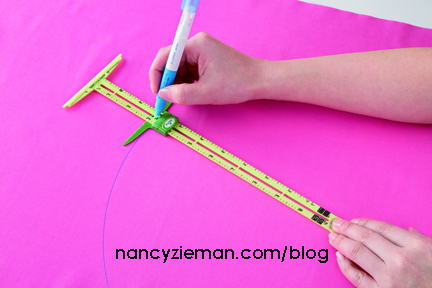 New Sewing Notions Super-sized 5-in-1 Sliding Gauge by Nancy Zieman