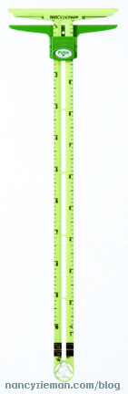 Supersize 5-in-1 Sliding Gauge by Nancy Zieman