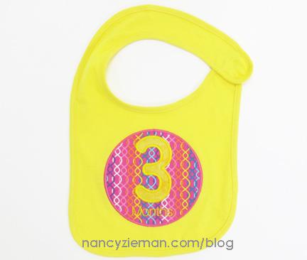 Milestone Month Birthdays Embroidery Nancy Zieman 15a