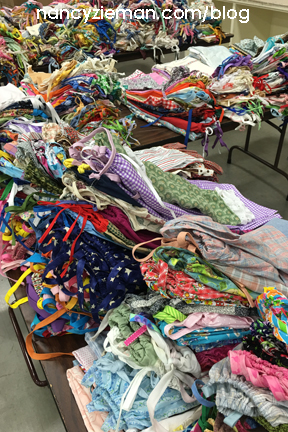 Little Dresses for Africa on Nancy's Corner hosted by Nancy Zieman