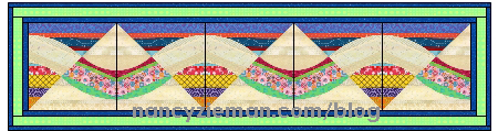 TableRunner Waves NancyZieman