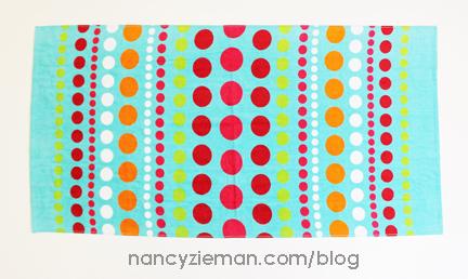 TowelWrap Nancy Zieman 1