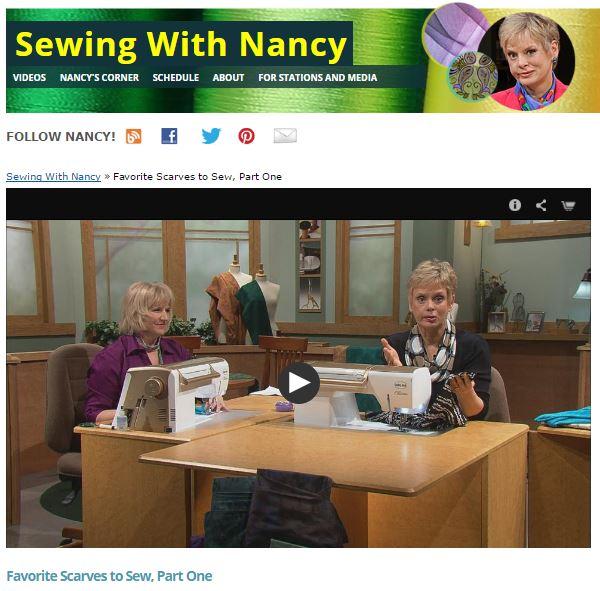 FavoriteScarves NancyZieman