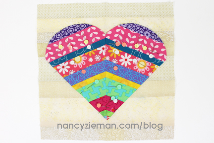 Greatful Heart BoM Nancy Zieman 24