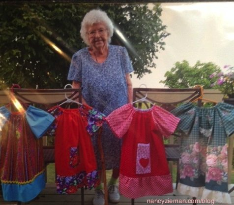 Little Dresses for Africa, Ms. Lillian Weber