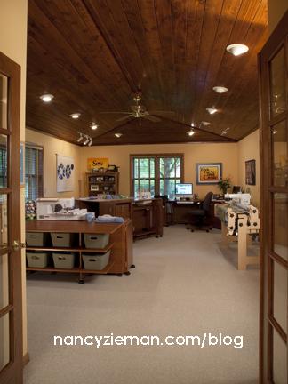 Take a virtual tour of Nancy Zieman's Sewing Studio | Sewing With Nancy
