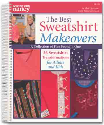 SewingWithNancy Sweatshirts BookCover