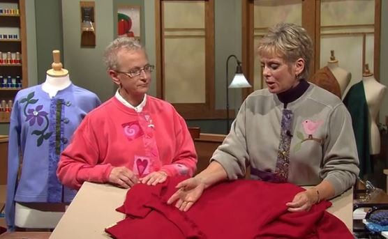 Sewing With Nancy, the Best of Sweatshirt Makeovers