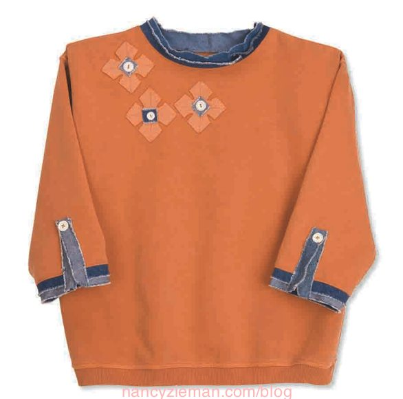 Nancy Zieman The Blog Sew The Best Sweatshirt Makeovers