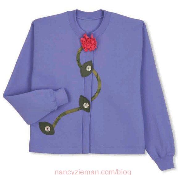 Best Sweatshirt Makeovers, Nancy Zieman, Mary Mulari