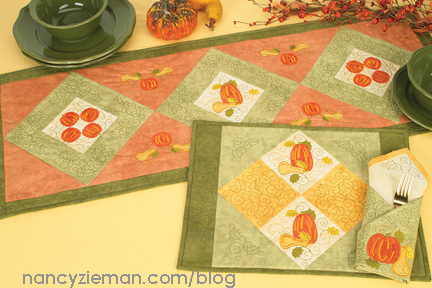 CreativeQuiltingOutlines NancyZieman 10PlaceSetting