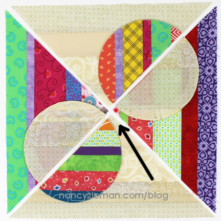 September Block of the Month | 2016 Adventure Quilt | Nancy Zieman | Sewing With Nancy | Carefree Curves Template