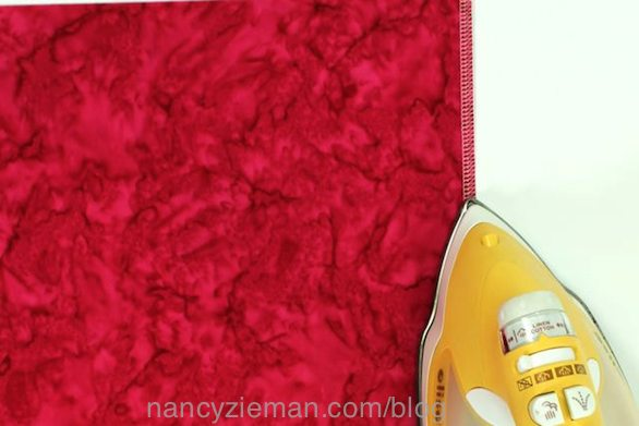 Absolute Easiest Way to Press Seams While Sewing by Nancy Zieman