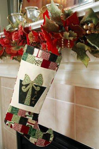 Baby Lock Christmas Stocking Tutorials